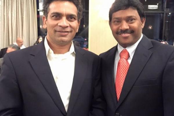 with Vijay Patil