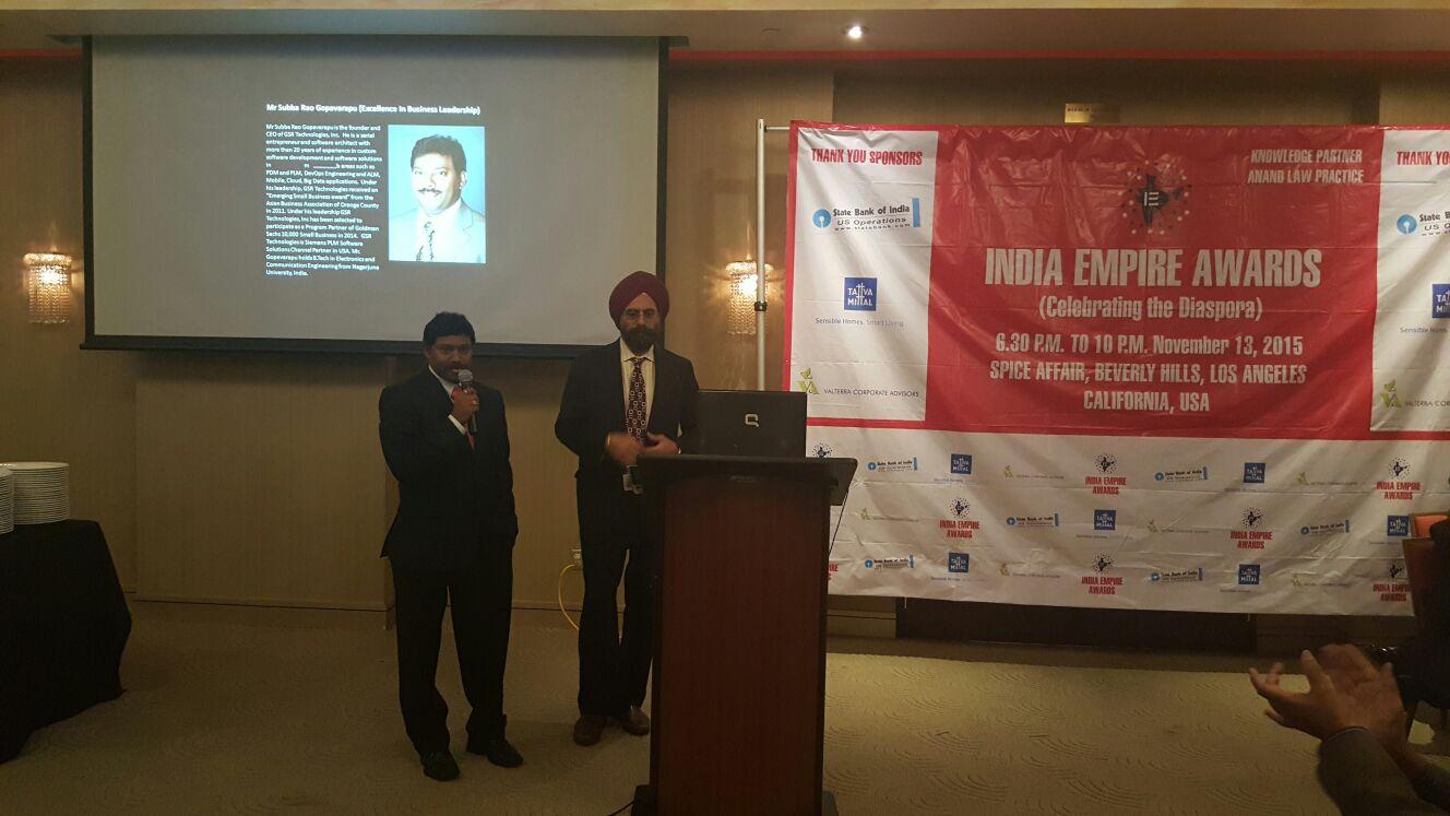 India Empire Award